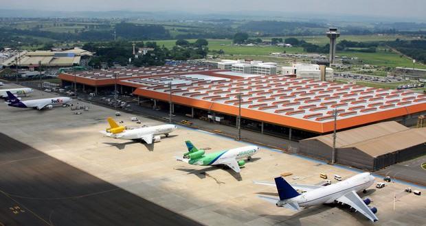 Aeroporto de Viracopos tem alta recorde de movimentação de carga