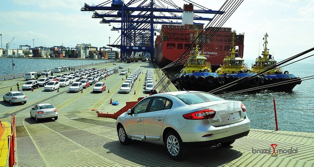 Exportação de veículos avançou 48%