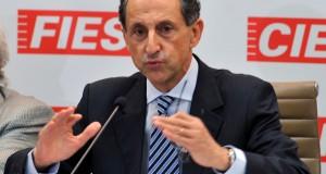 São Paulo - O presidente da Federação das Indústrias do Estado de São Paulo (Fiesp), Paulo Skaf, fala de pesquisa realizada com mil empresários paulistas sobre barreiras que impedem o crescimento industrial