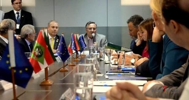 Governo do Estado recebe delegação da União Europeia para ampliar relações comerciais