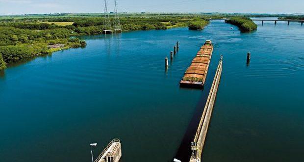 Acordo mantém transporte de cargas na Hidrovia Tietê-Paraná