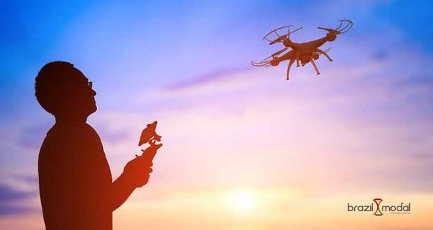 Drones diversificam a pauta de importação brasileira