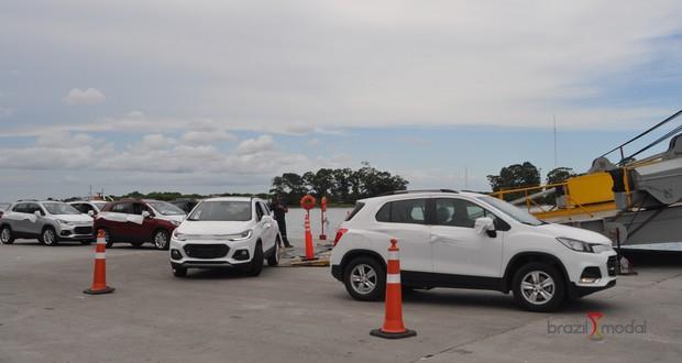 Porto do Rio Grande atingiu praticamente metade da movimentação de veículos rodantes de 2017 somente no primeiro trimestre de 2018