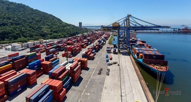 Movimento de cargas em portos públicos cresce 2,26% no 1º trimestre