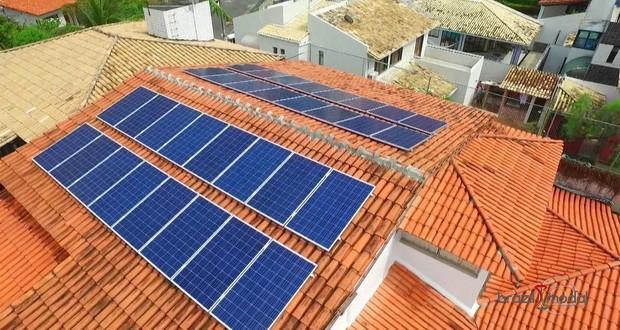 Energia solar já é usada por mais de 30 mil residências e empresas do país